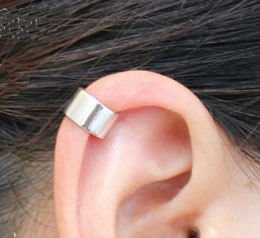 925 Silver Polish Wide Band Plain Ear Cuff Earrings In Clip From Jewelry Accessories On Aliexpress Alibaba Group