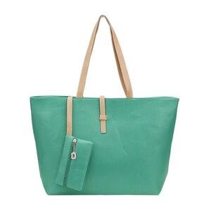 Green Big Handbag Shoulder Bag
