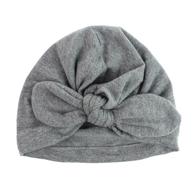 ROMIRUS Baby Turban Hats Solid Cotton Soft Beanie Spring Caps Hats for Girls Toddler Children Boys Cap Spring Autumn Beanie Caps