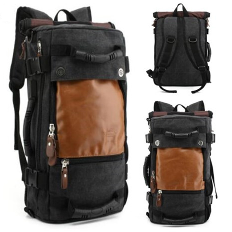 KAKA Mutifunctional Unisex Men Backpack Travel Sports Bag Pack Outdoor Mountaineering Hiking Climbing Camping Backpack For Male