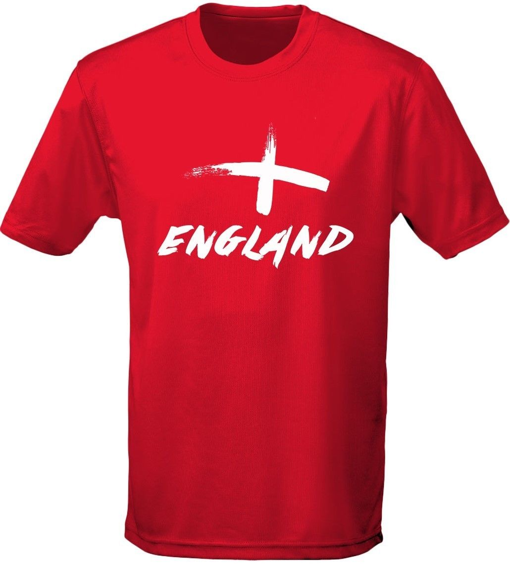 England Painted Mens T-Shirt 10 Colours (S-3XL) by swagwear New T Shirts Funny Tops Tee New Unisex Funny Tops