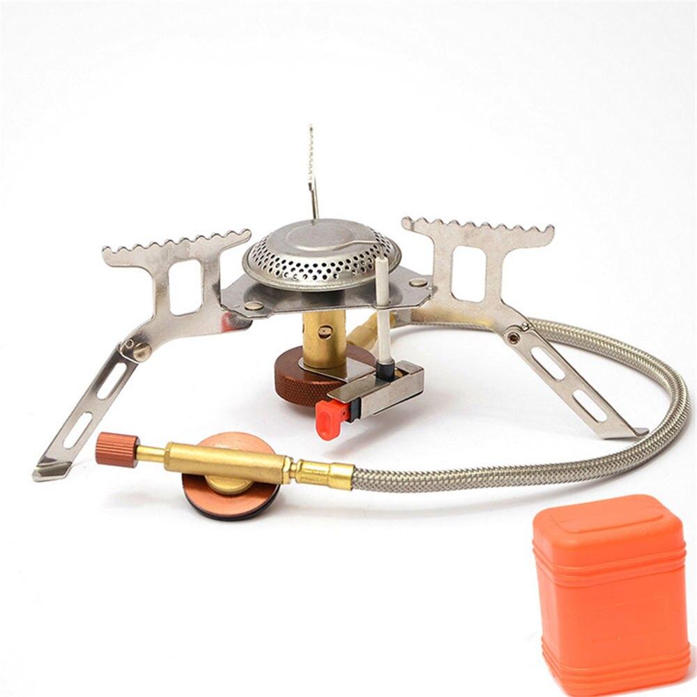18*7 cm mini estufa de camping plegable estufa de gas al aire libre estufa cocina picnic split horno 3500 W inducción cocina