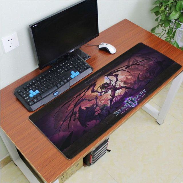 Yinuoda Simple Design Starcraft Game Rubber Desktop Mousepad Size for 180*220 200*250 250*290 300*600 and 400*900*2mm 2