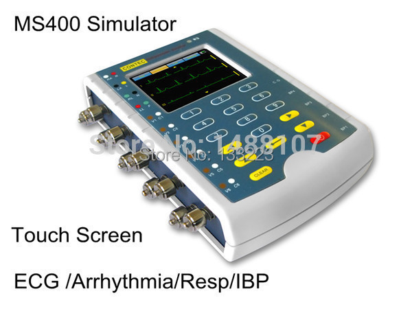 EG machine simulator and patient monitor simulator, Free Shipping medical  machine  equipment holter heal force advanced handheld eg monitor mini portable lcd electrocard free software 80a holter machine medical equipment