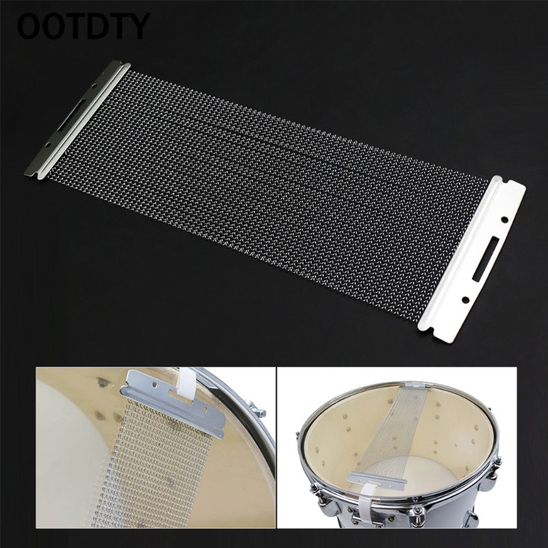 Купить с кэшбэком OOTDTY Steel Wire 20-42 Strands Drum Spring for 10-14 Inch Snare Drum Cajon Box Drum