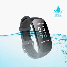 GIAUSA Smart Bracelet waterproof sleep monitor Fitness Bracelet Activity Tracker waterproof Pedometer Wristband For iOS Android id115 smart bracelet band sleep activity fitness tracker alarm clock pedometer wristband for ios android pk fitbits smartband