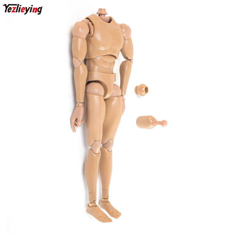 1 6 Scale Male Man Figure V8 Joint Movement Fit 12 Inch Body Phicen Doll Muscle