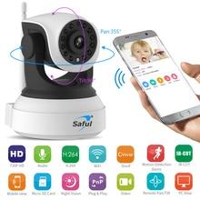 HD Wireless IP Camera 720P Wi-Fi Night Vision Surveillance Camera WiFi P2P Security CCTV Network Baby Monitor Two Way Intercom