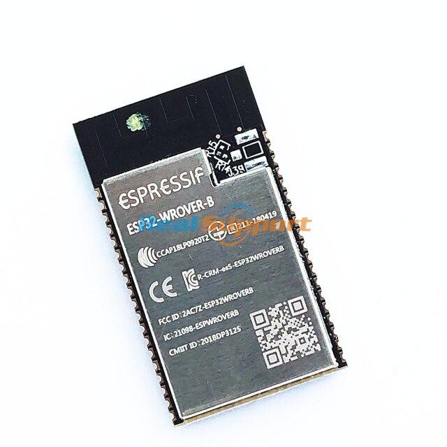 10 PCS ESP32 WROVER Mô đun ESP32 WROVER B SPI Flash 4 MB PCB Ăng ten Trên Tàu mô đun dựa trên ESP32 D0WD WiFi BT BLE MCU mô đun
