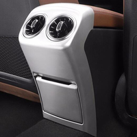 ABS Plastic Chrome Rear Air Condition outlet Vent frame Panel Trim Cover for Mercedes Benz A Class 2019 Car Styling
