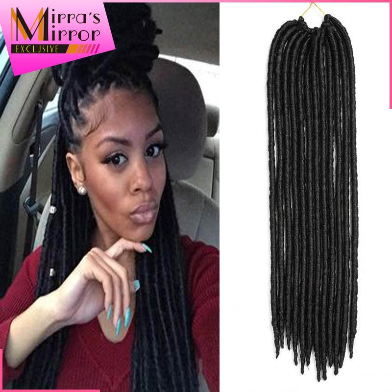 Crochet Braids Faux Locs 14 18 Hairstyles Soft Dreadlocks Hair 2x Mambo Fauxlocs Synthetic On Aliexpress Alibaba Group