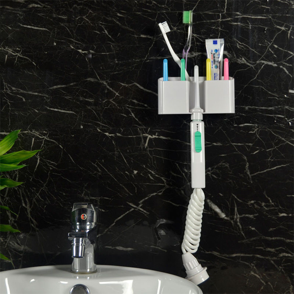 Faucet Dental Flosser Water Powered Flosser Denture Irrigation Water Jet Dental Irrigator Teeth Cleaning 6 Nozzle