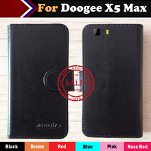 Hot!! In Stock Doogee X5 Max Case 6 Colors Ultra-thin Dedicated Leather Exclusive For Phone Cover+Tracking