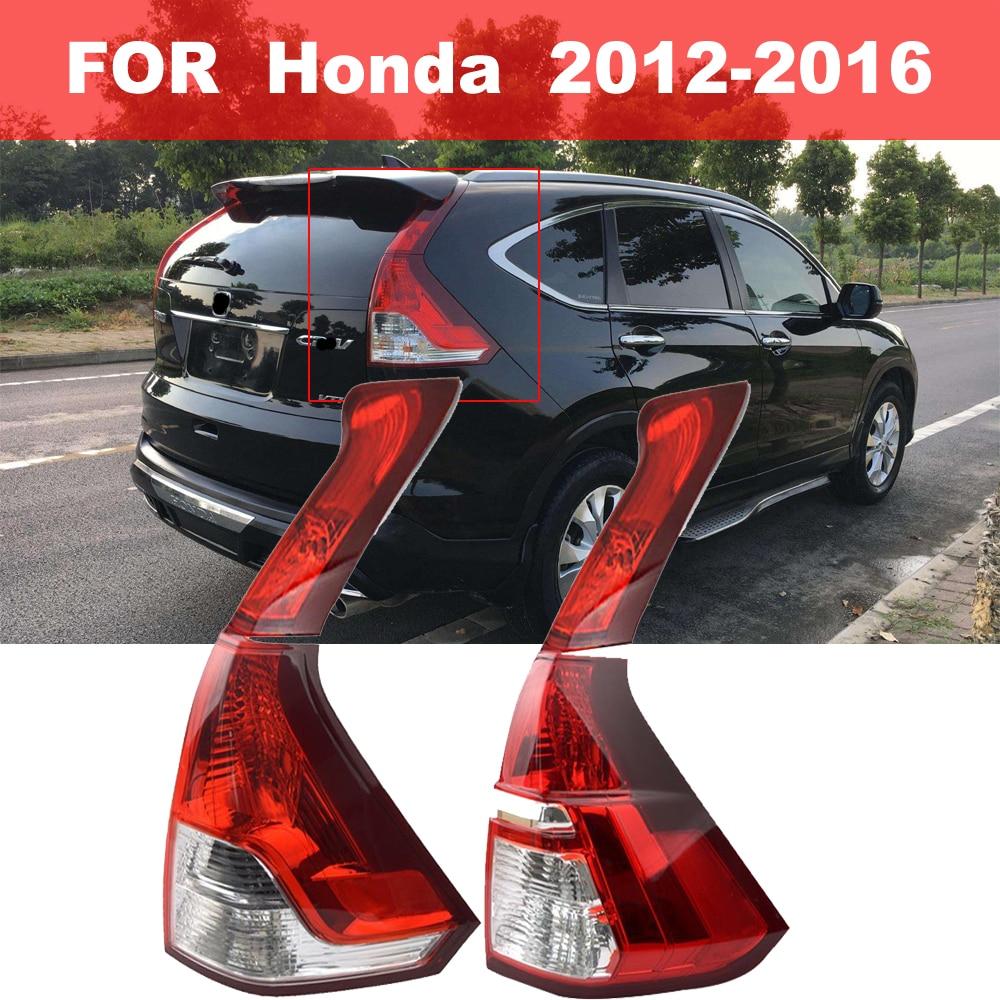 Auto Exterior LED Tail Light Lamps Rear Parking Reverse Day Light Brake Warning Lamp For HONDA CRV 2012 2013 2014 2015 2016