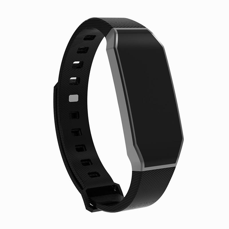 2018Vrouwen Mannen Smart Armbåndsur Horloge Sport Vandtæt blodtryk - Mænds ure - Foto 2