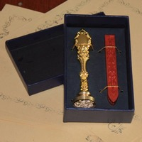 Wax Seal Stamp In Gift Box With 1pcs Wax Retro Style Sealing Wax Stamp Set Deluxe