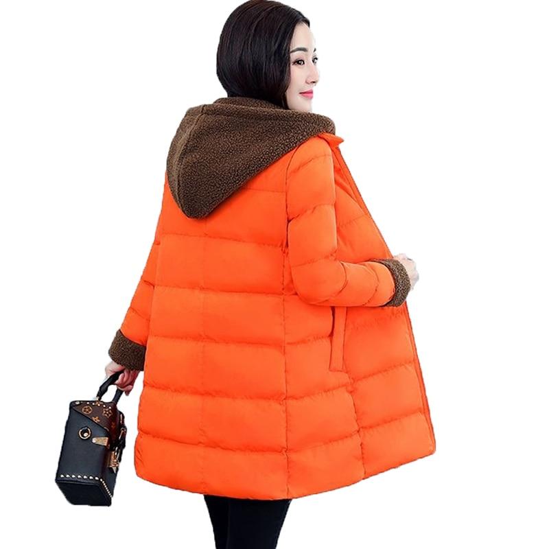 Bas orange Mince Chaud armygreen La De 5xl Lâche Survêtement A16 Pardessus Coton Femmes Black Épaissir Capuchon Taille Veste Des yellow Dames Plus D'hiver Le Vers À Haute Qualité ApFOY77wq