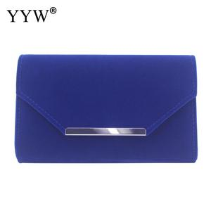 Image 4 - beige Clutch Bags For Women envelop handbags wedding party clutches 2019 Female Sac A Main blue female with chain clutch bag