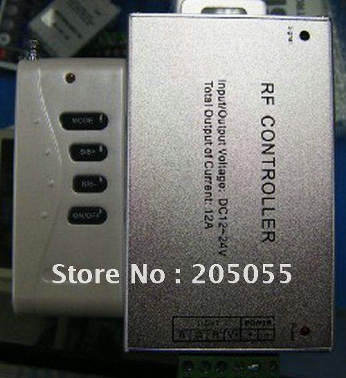 12 В-24 В 12a 4 клавиши Беспроводной РФ контроллер для RGB Светодиодные ленты огни