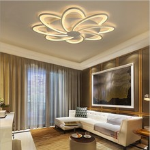 Surface Mounted Flowers led ceiling lights for living room lights bed room home lighting led lamp lampara ceiling lamp fixtures modern ceiling lights star ceiling lamp for living room kitchen restaurant luminaria surface mounted light fixtures led lamp