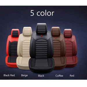 Image 5 - New Leather Cartoon Universal car seat covers for nissan teana j31 j32 terrano 2 tiida wingroad X TRAIL t30 t31 t32 xtrail 2018