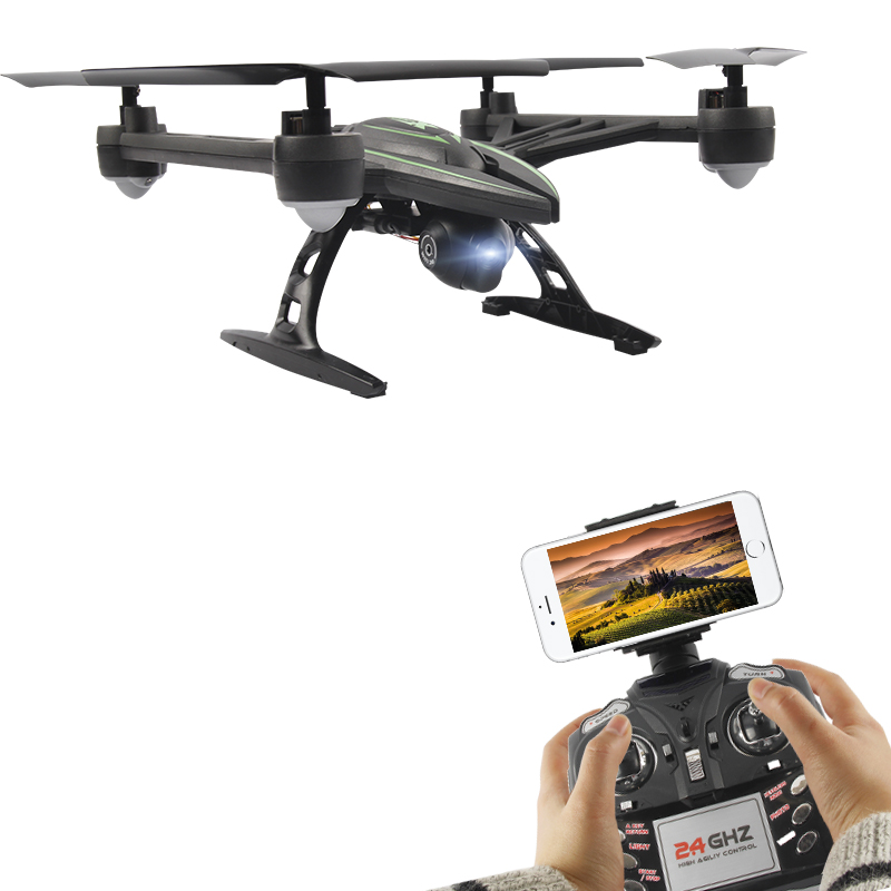 JXD 510 WIFI RC Drone UAV Mini Foldable Helicopter with WIFI FPV Camara Four axis Aircraft
