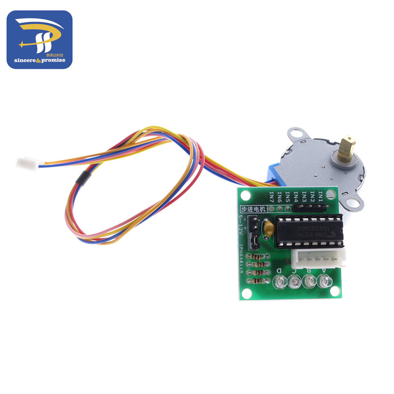 Raspberry pi kit 1lot 5v 4 phase stepper step motor for Raspberry pi stepper motor controller