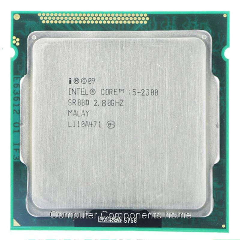 Intel Core I5-2300 CPU INTEL I5 2300 Processor 2.8 GHz 6 MB Cache Socket LGA1155