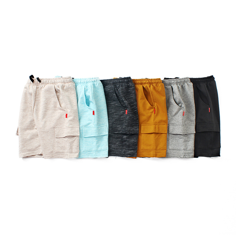 VIDMID chidren's clothes boys shorts solid thin cotton baby boy beach shorts for kids big boys casual trousers 4102 09 2