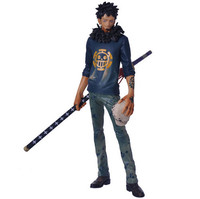 28cm After 2 Years Battle Ver Pvc One Piece Figures Action Figure Anime The Surgeon Of Death Trafalgar Law Model Toy gift