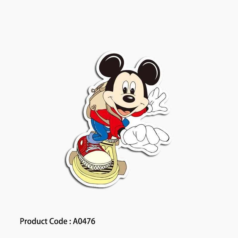 A0385 Sonic Hedgehog gry naklejka na laptopa, kreskówka wodoodporna walizka gitara bagaż Skateboard zabawka zwierząt naklejki