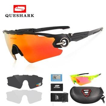b412522af Gafas de sol polarizadas para ciclismo para hombre y mujer, gafas de sol  para bicicleta y bicicleta, gafas de sol para bicicleta, 3 lentes, ...