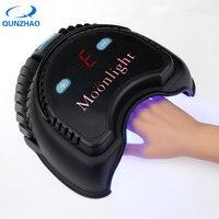 72 Вт высокое Мощность лампы для ногтей двойной источник света Smart Сенсор светодиодный/УФ Сушилка для ногтей свет лампы для гель польский отв