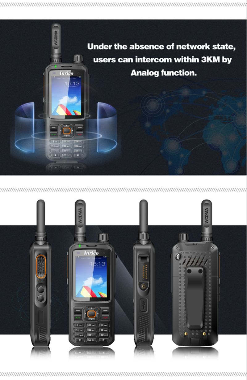 Image 3 - T298S 3G gps wireless android walkie talkie WIFI T298S public network radio GPS two way radio cb radio T298s-in Walkie Talkie from Cellphones & Telecommunications
