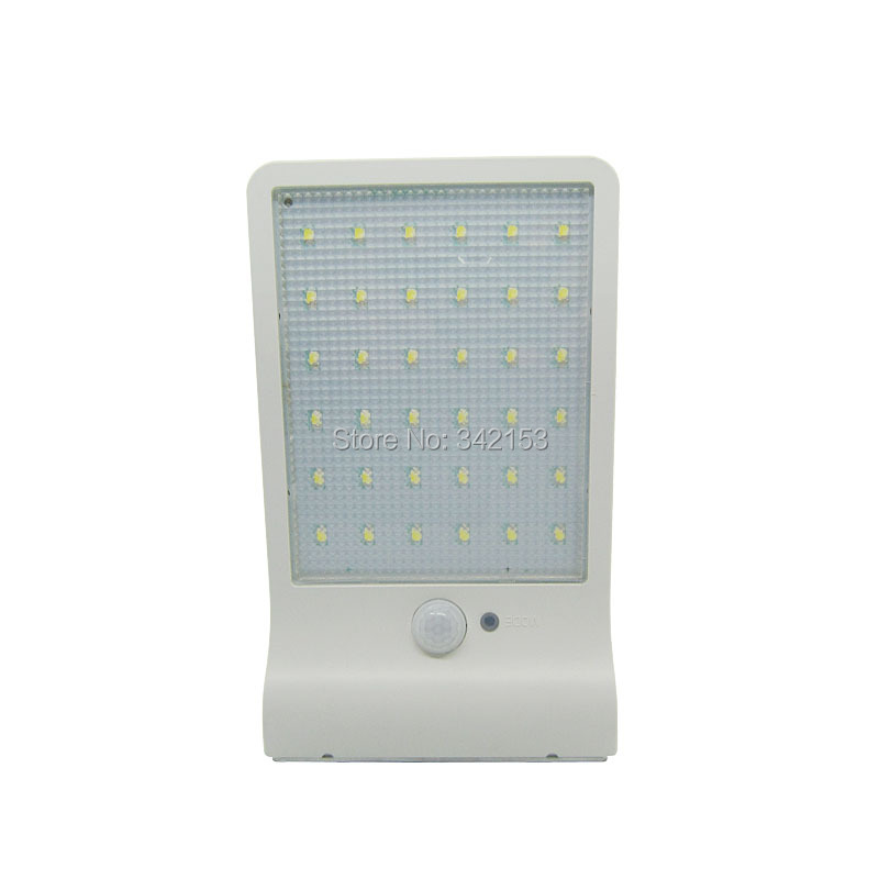 Solar Sensor Wall Light 36Led SMD2835 White 6000K Led Bulb Lamp PIR Motion Sensor LED Garden Light Outdoor Pathway Lightings
