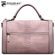 ZOOLER high quality luxury fashion brand handbag diagonal package counters authentic handbags, women famous brands