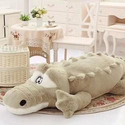 1piece 60cm 90cm new arrival stuffed animals big size simulation crocodile plush toy cushion pillow toys.jpg 250x250