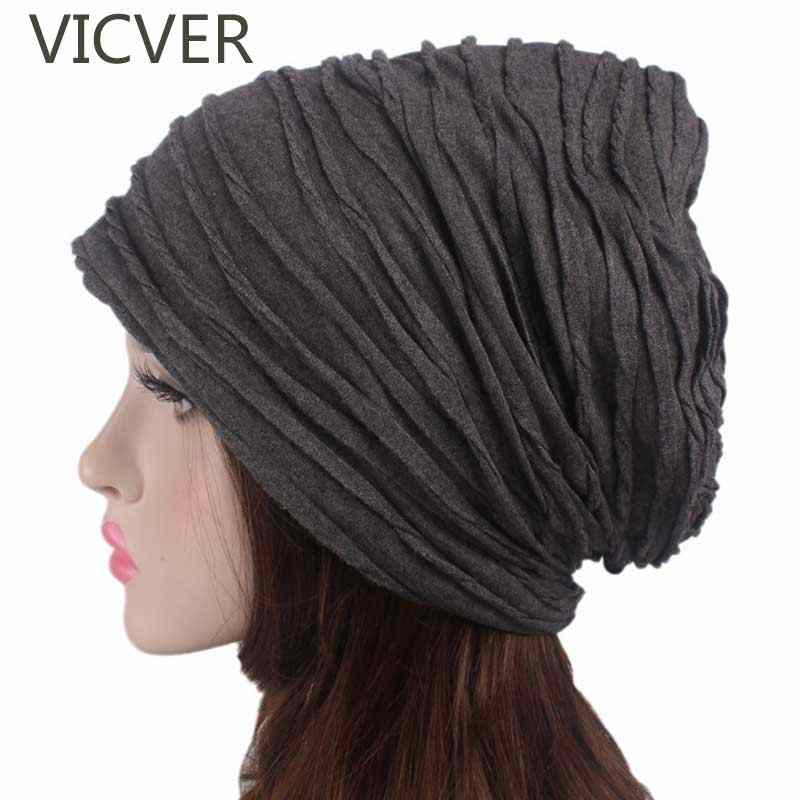 d4b45e4e2b9 Women Slouchy Beanie Hat Winter Cap Men Baggy Caps Fashion Oversized  Crochet Hat Female Skullies Beanies
