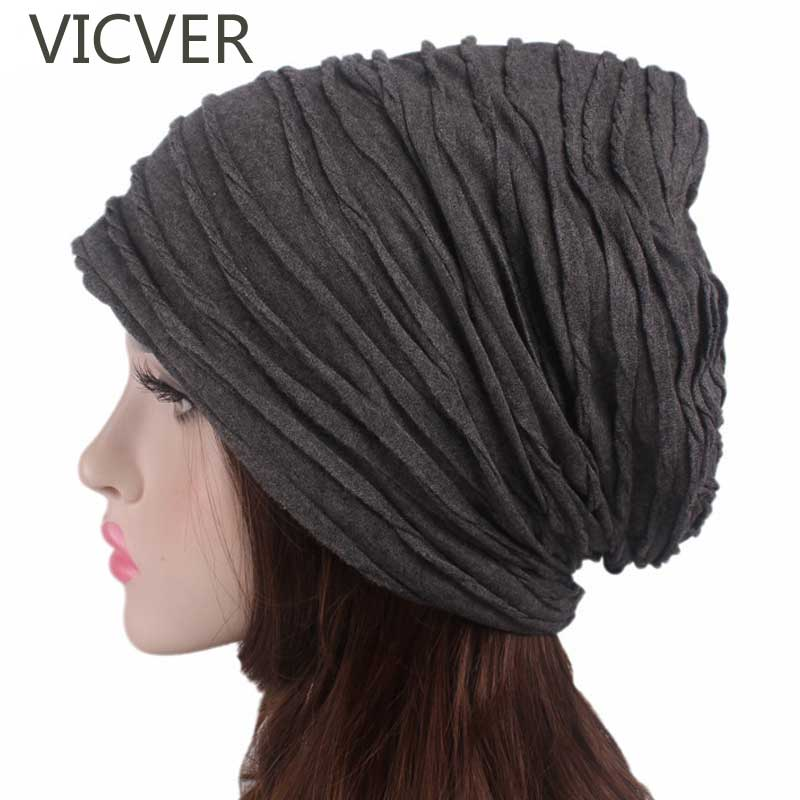 Women Slouchy   Beanie   Hat Winter Cap Men Baggy Caps Fashion Oversized Crochet Hat Female   Skullies     Beanies   Autumn Ladies Hats