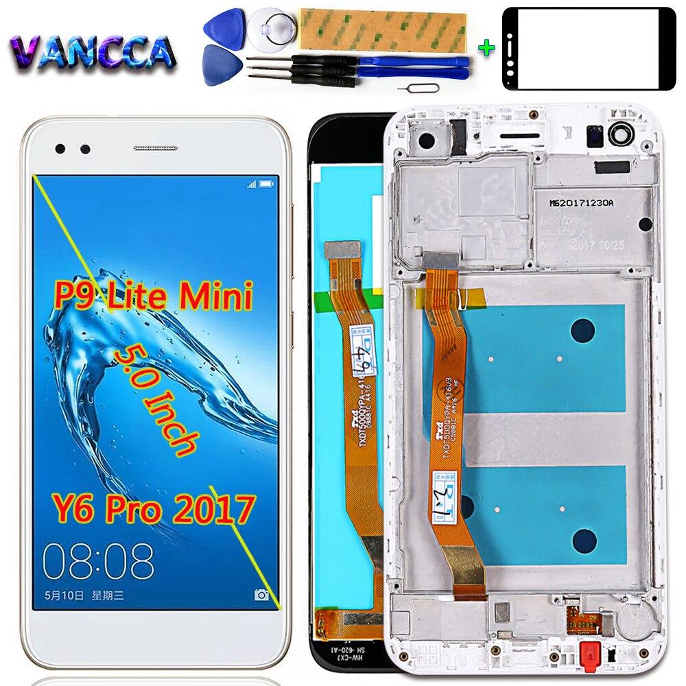Vancca LCD Display For Huawei P9 Lite Mini / Huawei Y6 Pro 2017 SLA-L02 SLA-L22 SLA-TL00 Digitizer Touch Screen Assembly Frame