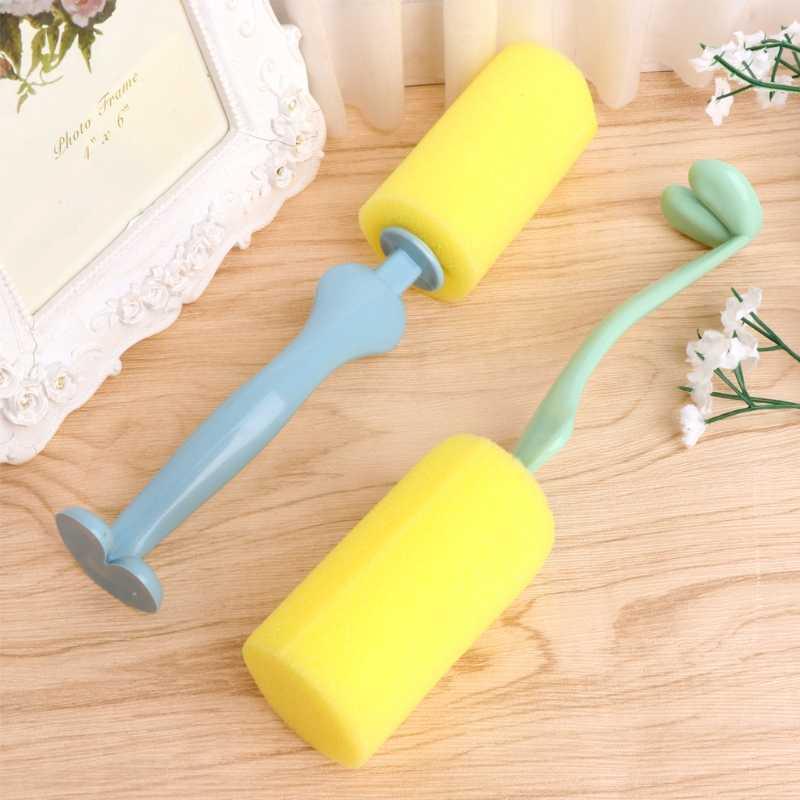 Безопасная чашка очиститель губка щетка Детская Бутылочка для грудного молока инструмент для чистки сосков