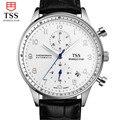 Reloj Hombre Марка Простой Мода Повседневная Бизнес Homme часы Мужчины Дата Водонепроницаемый Кварцевые Мужские световой Часы relogio masculino