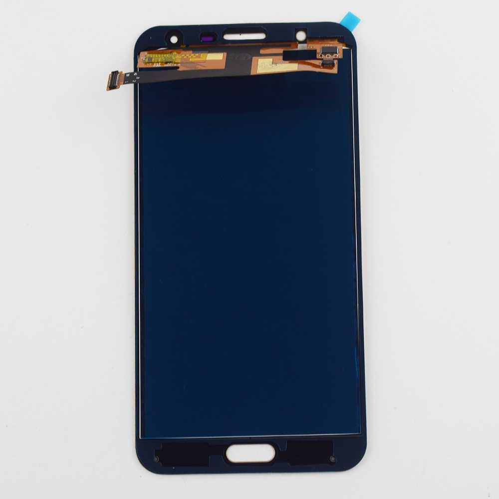 لسامسونج غالاكسي J7 Neo عرض مجموعة المحولات الرقمية لشاشة تعمل بلمس لسامسونج J701 شاشة الكريستال السائل J701M J701MT J701F LCD تعمل باللمس