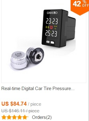 Car Tire Pressure Monitor