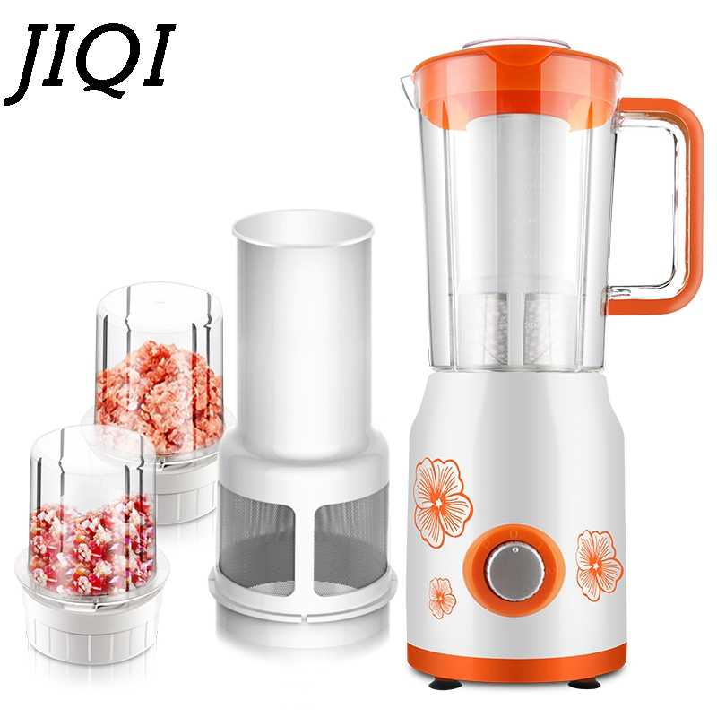 Electrc Fruit Vegetable Squeezer Low Speed orange citrus Juice Extractor 100% Original MINI Multifunction juicer 300W EU US plug glantop 2l smoothie blender fruit juice mixer juicer high performance pro commercial glthsg2029