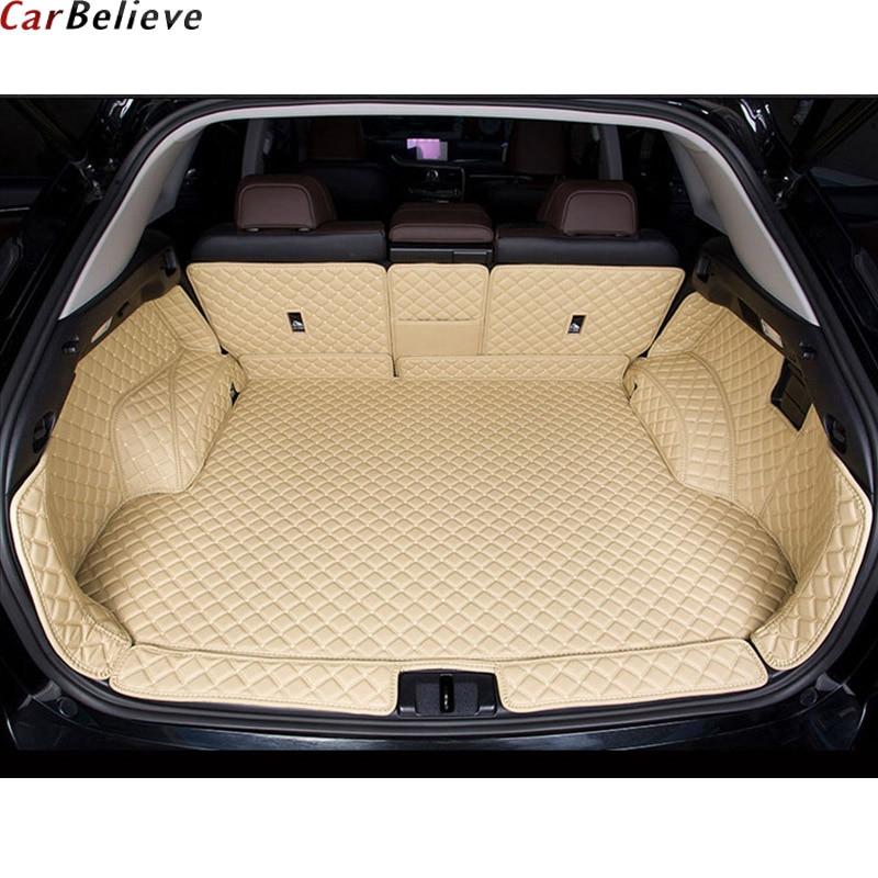 Car Believe Car Trunk Mat For Lexus Nx Lx570 Gx470 Gx460