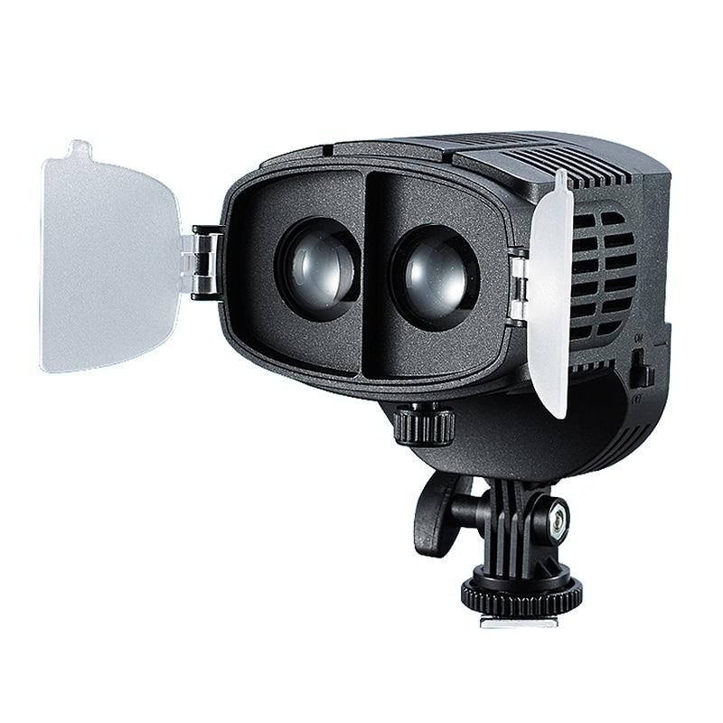 bilder für CN-20FC Auf der Kamera LED Licht Video Scheinwerfer 3200-5600 Karat Einstellbare Helligkeit Fokus Licht Für Canon Nikon DSLR kamera Camcorder
