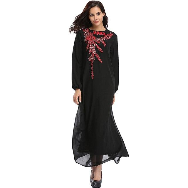 Babalet Elegante Modesto Musulmán Ropa Islámica Vestido de Dubai ...