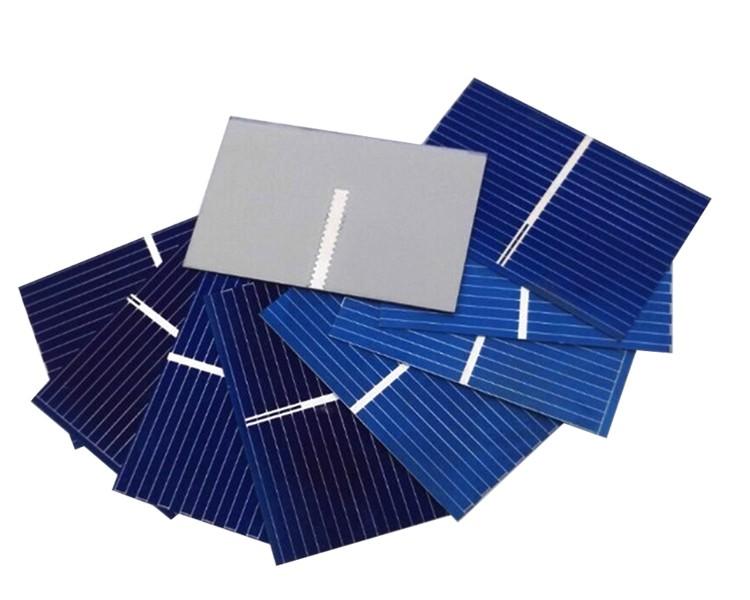 Aoshike 100pcs Solar Panel Sunpower Solar Cell photovoltaic panels Polycrystalline DIY Solar Battery Charger 0.5V 0.17W 39x26mm 1