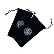 1 шт. специальный бархатный чехол для хранения карт Таро шестиконечная звезда узор луч Pockemeon карты Dixit загрузка различных настольных игровых карт